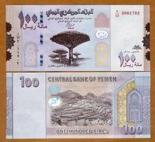 Yemen Arab Republic, 100 Rials, 2018 (2019), P-New, UNC > Redesigned