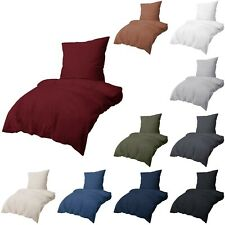 Renforce Bettwäsche Set 100% Baumwolle Bettbezug 2-3 Tlg Kissenbezug Kissenhülle
