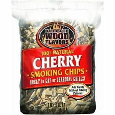 Barbeque SMOKER Wood Flavors  Wood Chips- CHERRY WOOD CHIPS