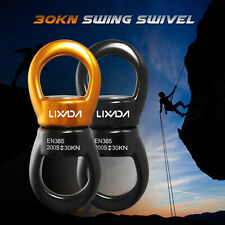 30KN Swivel Rotor Swing Rotational Device for Tree Rock Climbing Hanging Hammock