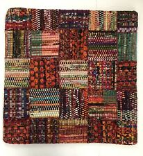 Loloi P0535 Wool, Viscose & Cotton Red Multi Color Pillow Cover 22�x22�