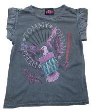 Indossato Amplified RAMONES Johnny Tommy Strass Rock Star Vintage T-shirt S 34/36