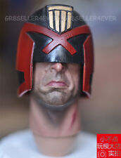 "Pre-order 1/6 Judge Dredd head sculpt Stallone HEAVY ARMOURED COP fit 12"" body"