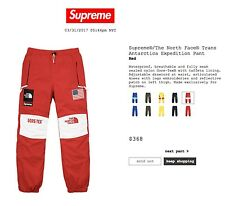 Supreme/The North Face Trans Antarctica Expedition Pant Red Large
