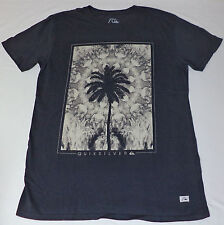 NWT Quiksilver Short Sleeve Gray Graphic T-Shirt     Medium      L1741