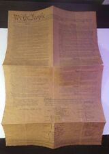 ** Vintage Declaration of Independence - Authentic Reduced Size Copy **