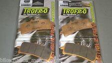 4 pastiglie Trofeo SINTERIZZATE anteriori Ducati streetfighter 848s 848 S 1098