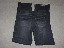 Women's Black Stretch Denim Jeans by Rider by Lee Premium sz 16 Long