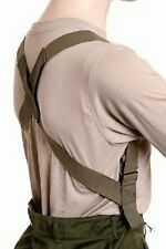 NEW MILITARY M1950 TROUSERS PANTS SUSPENDERS ELASTIC HARNESS TYPE FREE SHIPPING