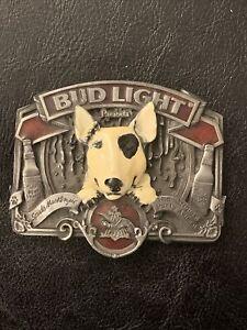 Vintage Bud Light Spuds Mackenzie The Original Party Animal Belt Buckle Bergamot