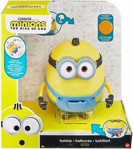Minions The Rise of Gru Babble OTTO Interactive Mattel 35+ Lights Sounds Laughs