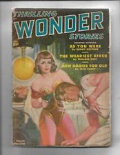 Thrilling Wonder Stories Aug 1950  L Ron Hubbard / Arthur C Clark Stories!