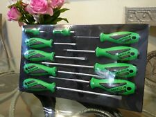 Matco Tools 10PC Top Torque II Green Screwdriver Set SSPCG10 -10 PC Screwdrivers