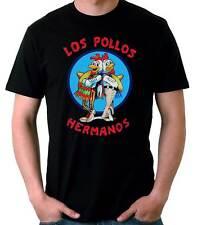 Camiseta Hombre Los Pollos Hermanos Breaking Bad tv t-shirt manga corta
