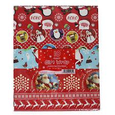 Tallon 10 feuilles de Noël Cadeau Papier emballage - Différents Modèles