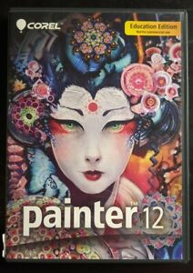 Corel Painter - ( v. 12 ) (Retail) - Full Version for Mac, Windows. Clean! SHIPS