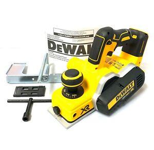 "DeWALT DCP580B 20-Volt 15,000-Rpm 5/64"" Cutting Depth Li-Ion Planer - Bare Tool"