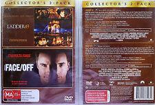 LADDER 49 / FACE OFF - Double Feature (2 Disc Set) DVD R4 PAL John Travolta