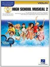 Instrumental Play-Along  High School Musical 2 (Violin) Vl Bk/Cd (Hal Leonard In
