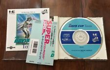 The Davis Cup Tennis PC Engine Game Japan Import with Manual + Spine Card