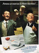 Publicité Advertising 1982 Le Fromage St Moret