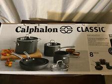New ListingCalphalon cookware set - Anodized, Nonstick - 8 Piece Set - new In Box