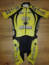 Aida's Bail Bonds Cycling Biking Jersey Suit M Medium