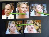 LOT RETIRAGES PHOTOS DU MARIAGE DU PRINCE ALBERT ET DE CHARLENE 02/07/2011