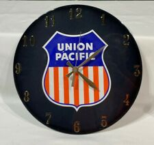 Union Pacific Wall Clock  Perfect Looks and Time Keeper Pic-Vue Clocks Dauge & A