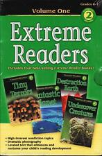 NEW Sealed Boxed Set 4 EXTREME READERS Grades K-1 Level 2 Science Homeschool