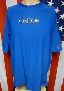 O'NEIL rash-guard XL wave logo T shirt surfing tee UV Protection quick-dry nylon