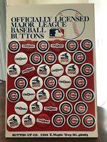 30 Chicago Cubs Pins - 9 White Sox Pins - Dealer Display Cubs Sox Pins!