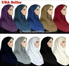 Lot of 10 Ruched Amira hijab with stones scarf pull over Muslim clothing Hijab