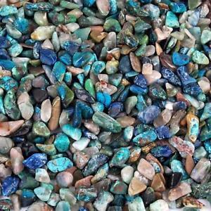 schöne kleine Azurit Malachit Trommelsteine Heilsteine 10 - 15 mm  A - Qualität