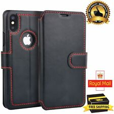 Premium Luxury High Quality Leather Flip Wallet Case Cover for IPhone Models