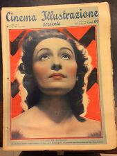 Cinema Illustrazione 1938 XIII n° 17 Evi Maltagliati    23/12