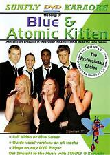 Sunfly Karaoke DVD Atomic Kitten & Azul/Pasos/S Club Plus Gratis Dvd 34 canciones