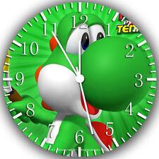 Yoshi Super Mario Frameless Borderless Wall Clock Nice For Gifts or Decor W242