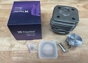 Hyway Titanikel Pop UP CYLINDER Piston KIT Husqvarna 395 (58MM) Wagners
