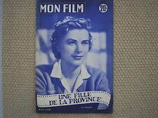 GRACE KELLY 1955 FRENCH MAGAZINE MON FILM FOTO STORIA COMPLETA THE COUNTRY GIRL