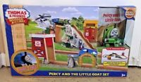 New Thomas & Friends Wooden Railway Percy and Little Goat Set Christmas Gift