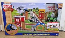 New Thomas & Friends Wooden Railway Percy and Little Goat Set
