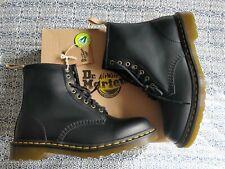 Dr Martens 1460 Vegan Ankle Boots UK 10 - BNWT - Black