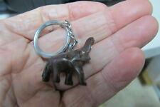 Vintage Brown Elephant Key Chain