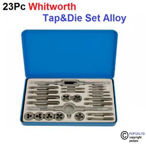 Whitworth Tap and Die Set 23pc BSW British Standard Whitworth TP126