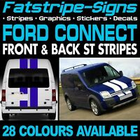 FORD TRANSIT CONNECT ST STRIPES GRAPHICS STICKERS DECALS M SPORT DAY VAN SWB LWB