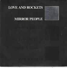"7"" 45 TOURS UK LOVE AND ROCKETS ""Mirror People / David Lanfair"" 1988 NEW WAVE"