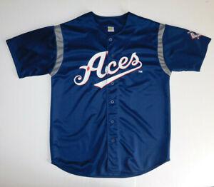 RENO ACES MiLB 51s AAA SGA Minor League Baseball Jersey Navy Blue Adult XL
