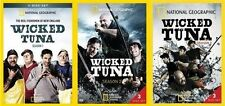 WICKED TUNA Complete Season 1 2 3 DVD National Geographic Collection Lot Series