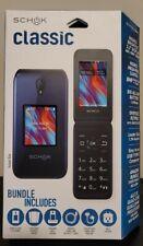 New listing 🔥New🔥 Schok Classic Flip Gsm 8Gb Phone - Black - Unlocked